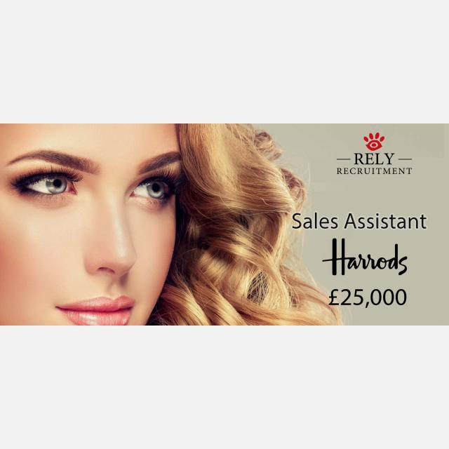 Luxury Sales Assistant (full time permanant)