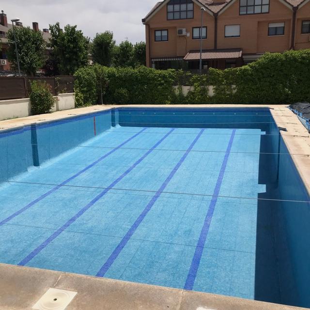Limpiador y desinfección de piscinas
