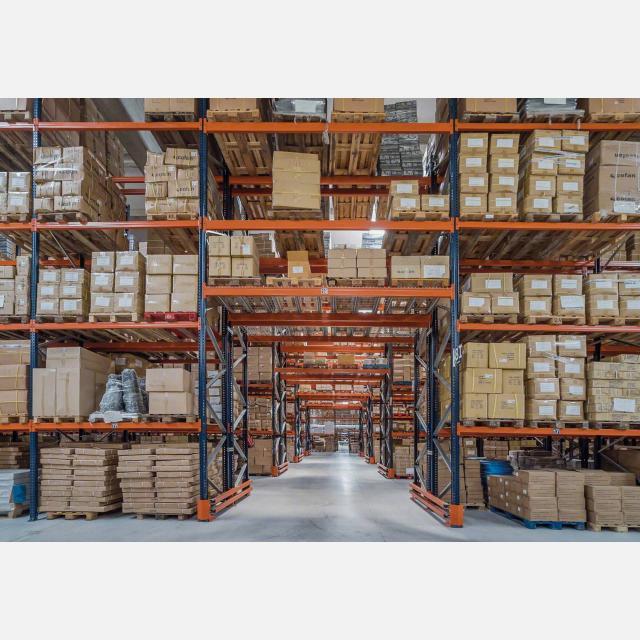 Operario de almacén en Holanda