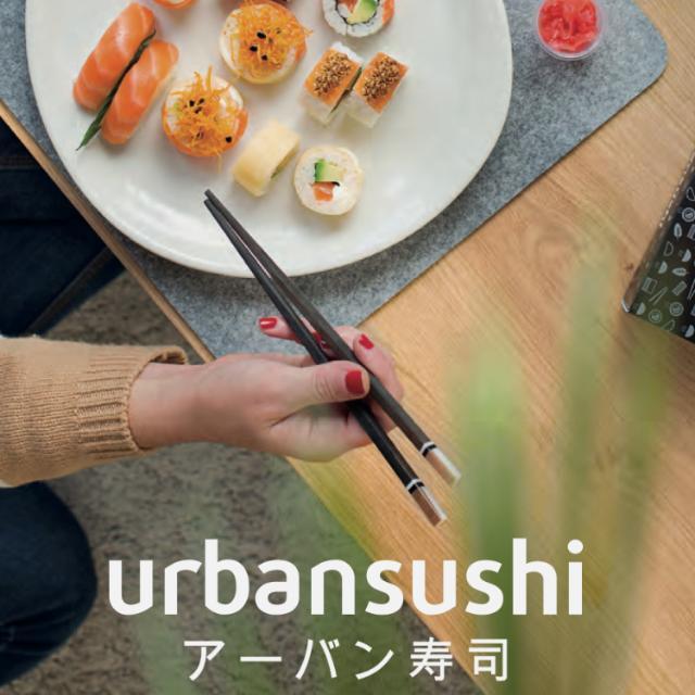 Repartidor de Sushi a domicilio