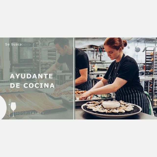 [6128] Ayudante de Cocinero/a