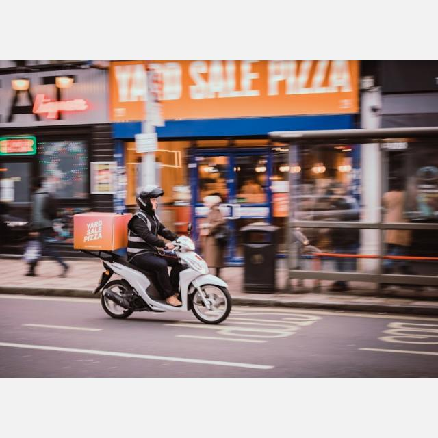 Moped Delivery Driver, Finsbury Park, Up to 20 hours, Up to £10.50 per hour