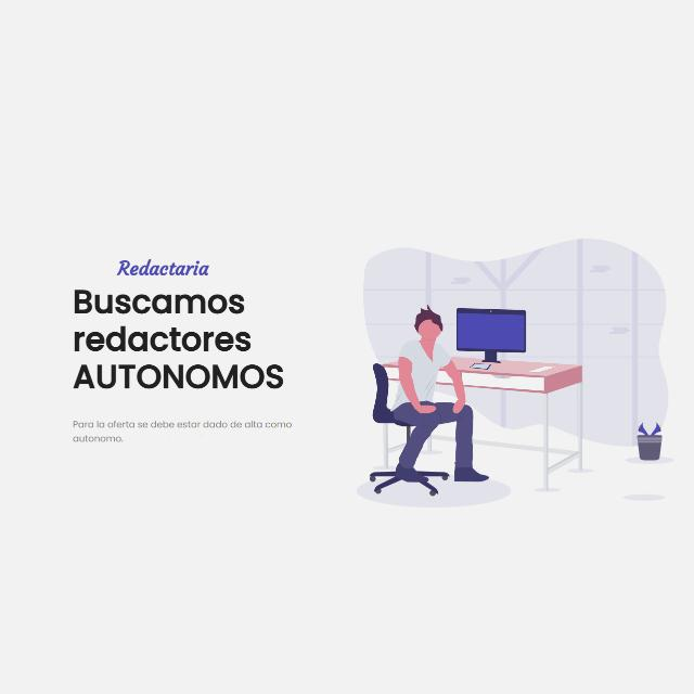 Redactor/a