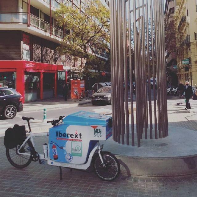 Repartidor autónomo bicicleta