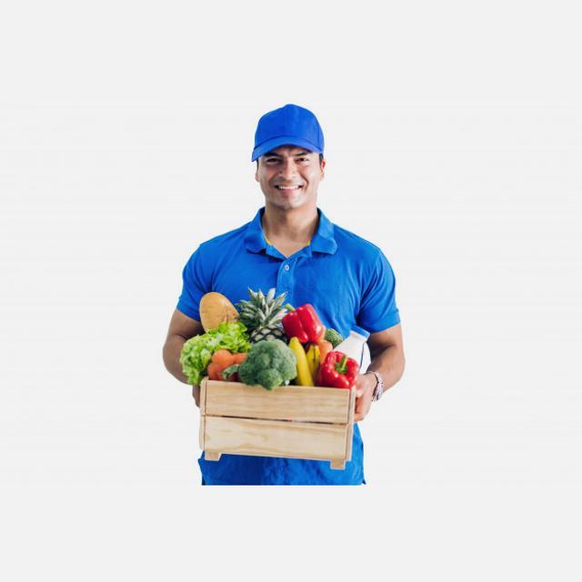 Repartidor autonomo con vehiculo propio sector frutas
