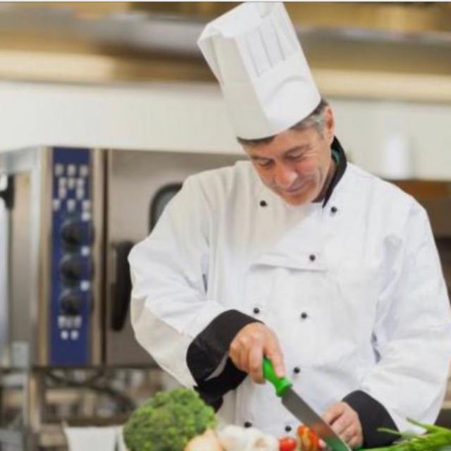 Cocinero con experiencia, Jefe de partida