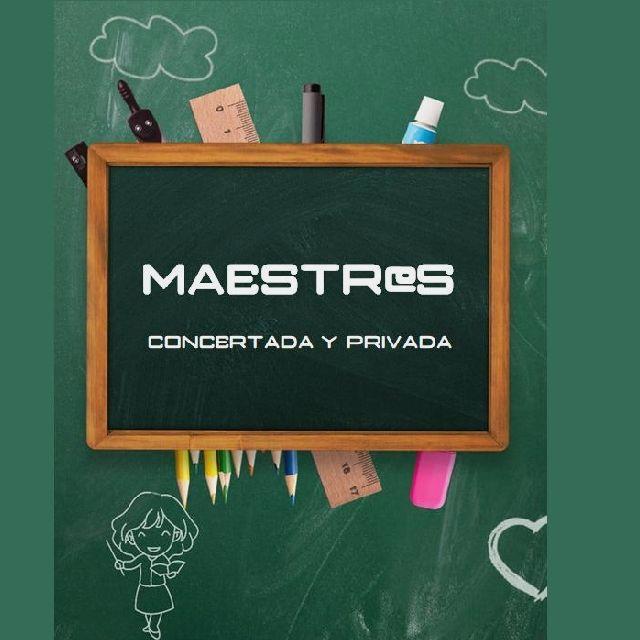 PROFES PARA COLES PRIVADOS / CONCERTADOS