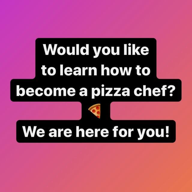 Apprentice Pizza Chef