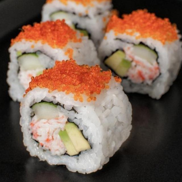 cocinero para hacer sushi roll