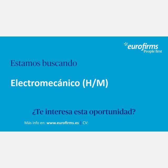 Electromecánico/a