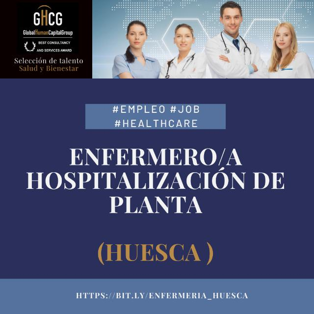 Enfermero/a Hospitalizacion de planta (Huesca)